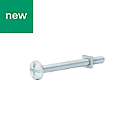 M5 Roofing bolt & square nut (L) 60mm, Pack of 10