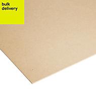 High density fibreboard Sheet (Th)3mm (W)1220mm (L)2440mm