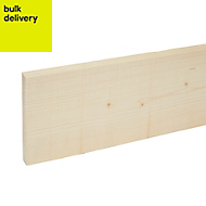 Rough sawn timber (T)19mm (W)150mm (L)2400mm Pack of 4
