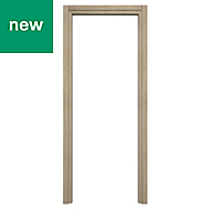 Exmoor Oak effect Internal Door frame, (H)1981mm (W)762mm