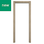 Exmoor Oak effect Internal Door frame, (H)1981mm (W)838mm