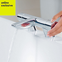 Ideal Standard Active Chrome finish Bath filler tap