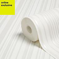 Graham & Brown Marcel wanders White Maestro Stripe Wallpaper