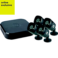 Yale Wired Smart home 1080p 4 camera CCTV kit