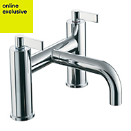 Ideal Standard Silver Chrome finish Bath filler tap