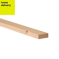 Smooth planed timber (T)18mm (W)44mm (L)2400mm Pack of 12