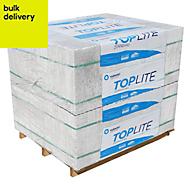 Toplite Grey Aerated concrete Foundation block (H)215mm (W)300mm (L)440mm 552000g