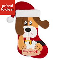 Christmas Puppy Stocking
