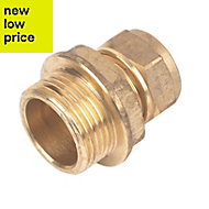 Plumbsure Compression Coupler (Dia)15mm