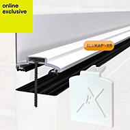 Alukap White Axiome sheet glazing bar, (H)70mm (W)60mm (L)4800mm