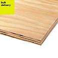 Softwood Plywood Sheet (Th)18mm (W)1220mm (L)2440mm