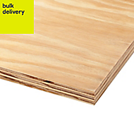 Softwood Plywood Sheet (Th)18mm (W)1220mm (L)2440mm