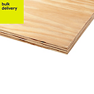 Softwood Plywood Sheet (Th)12mm (W)1220mm (L)2440mm