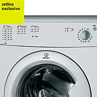 Indesit IDC75S(UK) Silver Freestanding Tumble dryer