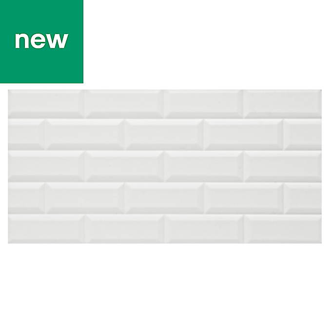 Cimenti Grey Matt Ceramic Wall Tile Pack Of 10 L 400mm: Westlabels