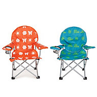 Molloy Multicolour Metal Kids camping Chair