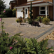 Monksbridge Croft Block paving (L)200mm (W)100mm, Pack of 404