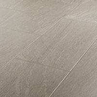 Natural Greige Satin Stone effect Porcelain Wall & floor Tile, Pack of 6, (L)600mm (W)300mm