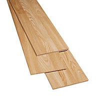 Natural Oak effect Laminate Flooring, 3m² Pack