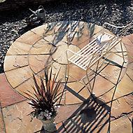 Natural sandstone Sunset buff Paving set 4.75m², Pack of 25