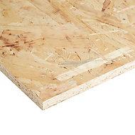 Natural Softwood OSB 3 Board (L)1.22m (W)0.61m (T)15mm