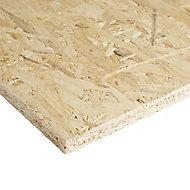 Natural Softwood OSB 3 Board (L)1.22m (W)0.61m (T)18mm