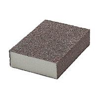 Norton Medium/Coarse Sanding sponge (L)100mm (W)68mm