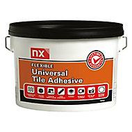 NX Flexible Universal Stone white Tile Adhesive, 15kg