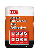NX Universal Ready mixed White Floor & wall Tile Powder Adhesive & grout, 10kg