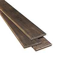 Orford Grey Oak effect High-density fibreboard (HDF) Laminate Flooring Sample