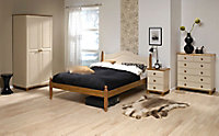 Oslo Cream 3 piece Bedroom furniture set