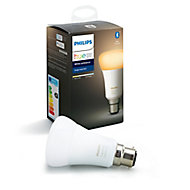 Philips Hue B22 LED Cool white & warm white Classic Dimmable Smart Light bulb