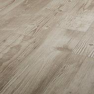 Pine wood Greige Matt Wood effect Porcelain Floor Floor tile Sample