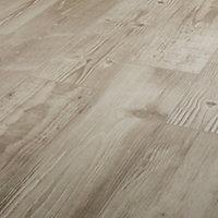 Pine wood Greige Matt Wood effect Porcelain Outdoor Floor tile, Pack of 8, (L)800mm (W)200mm