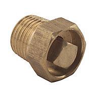 Plumbsure Brass Bottle air vent, (Dia)3.2mm