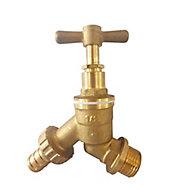 Plumbsure Brass Outdoor tap