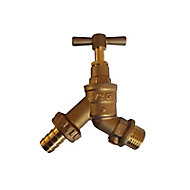 Plumbsure Brass Outdoor tap