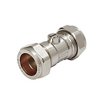 Plumbsure Compression Ball valve (Dia)22mm