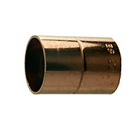 Plumbsure End feed Straight Coupler (Dia)22mm, Pack of 10