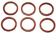 Plumbsure Fibre Tap Washer, Pack of 6