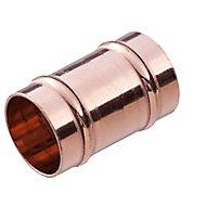 Plumbsure Solder ring Coupler (Dia)15mm