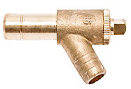 PolyPlumb Push-fit Type A Drain cock, (Dia)15mm