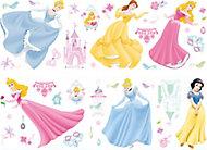 Princess Multicolour Self-adhesive Wall sticker (L)700mm (W)250mm
