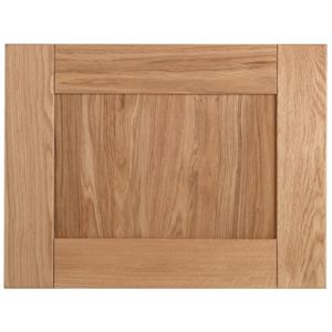 Cooke & Lewis Chesterton Solid Oak Belfast Sink Door (W)600mm