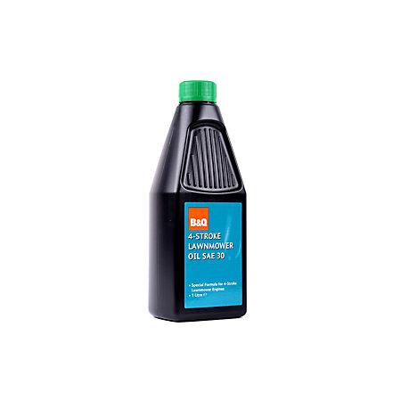 B&Q Lawnmower oil 1L | Departments | DIY at B&Q