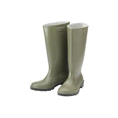 B Q Green Wellington Boots Size 7 Departments Diy At B Q
