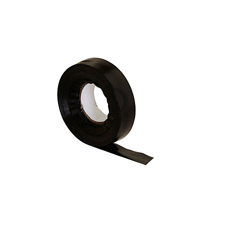 b q black insulation tape l 30m w 19mm departments. Black Bedroom Furniture Sets. Home Design Ideas