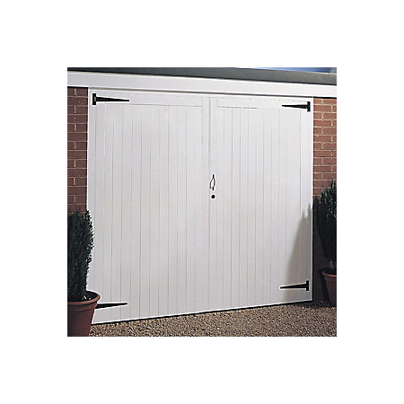 Side Hung Garage Door Pair H2134mm W2134mm Departments Diy