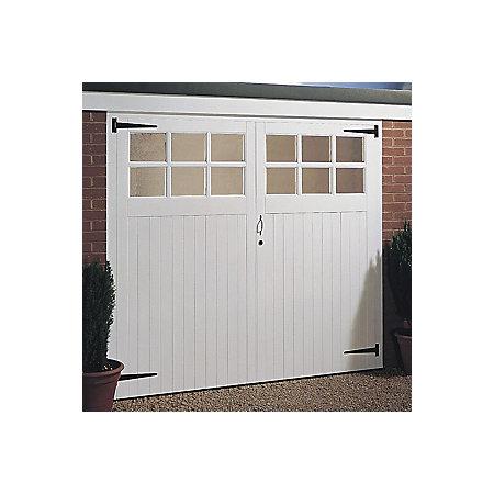 Side Hung Garage Door Pair H2134mm W2134mm Departments Diy