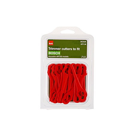 B&Q Trimmer cutters Replacement plastic blades | Departments | DIY at B&Q